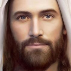 Jesus, the Christ. My most favorite picture of Jesus ❤ Pictures Of Jesus Christ, Jesus Christ Images, Religious Pictures, Jesus Our Savior, God Jesus, Jesus Painting, Jesus Christus, Jesus Face, Heavenly Father