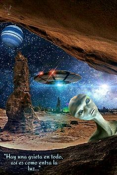 Space Fantasy, Fantasy World, Fantasy Art, Aliens And Ufos, Ancient Aliens, Astronomy Photography, Alien Ship, Alien Concept, Alien Abduction