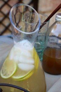 Ginger and Lemon Grass Lemonade