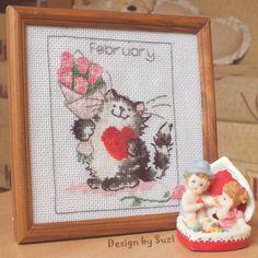 Margaret Sherry - Callendar Cats (February)