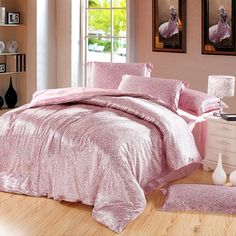 Type: Duvet Cover Set(Without Comforter)Grade: QualifiedMaterial: Silk / CottonPattern: Plain DyedStyle: TwillUse: HomeQuantity: 4 pcsTechnics: WovenPattern Typ Flat Sheets, Bed Sheets, Twin Quilt Size, Silk Bedding, Textiles, Luxury Bedding Sets, Home Textile, Duvet Cover Sets, Furniture