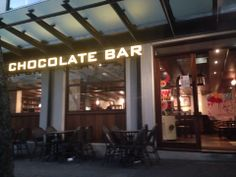Max Brenner Chocolate Bar in Ultimo!