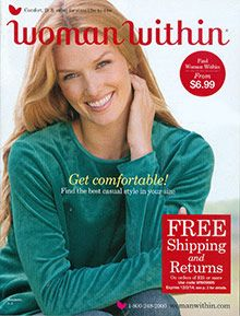woman within fall preview sale catalog | love our catalogs