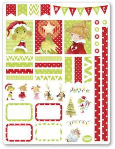 Weihnachten Dekoration Grouch Kit / wöchentlich von PlannerPenny