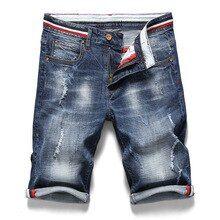 9b268ea4a1 Mens Retro Casual Shorts Summer Breathable Denim Shorts Men Jeans Vintage  Faded Multi-Pockets Biker Short Jeans work Plus Size