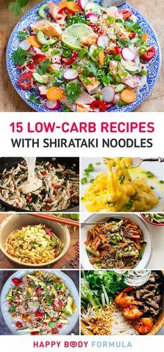 15 Delicious & Low-Carb Shirataki Noodles Recipes