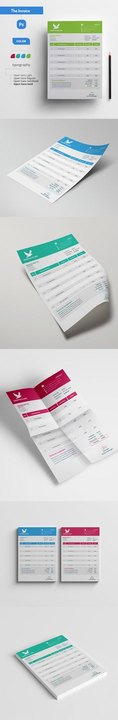 Creative Invoice Creative, Template and Proposal templates