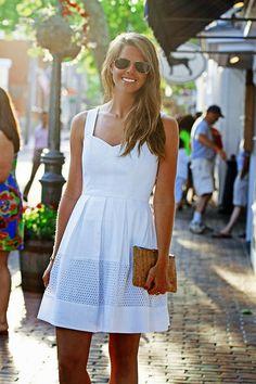 Classy Girls Wear Pearls: A Bouquet of Dresses