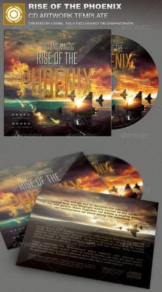 The Rise of the Phoenix CD Artwork Template is sold exclusively on graphicriver, it can be used for your Church Events, Sermons, Gospel Concert etc, or for any other marketing projects.