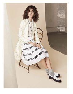 Marie Claire Spain April 2016 Blanca Padilla by Michelle Ferrara-6