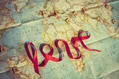 Travel map ♥