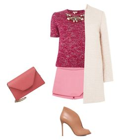 """Untitled #70"" by ely4u ❤ liked on Polyvore featuring P.A.R.O.S.H., Valextra and Gianvito Rossi"