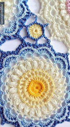 [Photo Tutorial] Learn A New Crochet Pattern: Beautiful Textured Crochet Pattern: