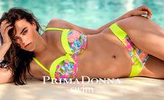 Chic Prima Donna Swim Pool Party Strapless/Convertible Bikini Top Yellow Sunshine womens Swimwear from top store Dd Swimwear, Swimwear Fashion, Swimsuits, Si Swimsuit, Summer Body, Swim Top, Retro Fashion, Bikini Tops, Beachwear