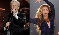 """On the road to promote her upcoming album Nostalgia, Annie Lennox has tried, it seems, to start something with Beyoncé. Sure, why not? Last month, she called Bey """"feminist lite,"""" and in an interview with NPR's Steve Inskeep yesterday, she clarified, """"twerking is not feminism."""""""