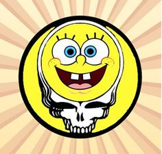 Spongebob Sqarepants Grateful Dead 2.25 Inch Pinback Button SpongeBob SquarePants http://www.amazon.com/dp/B00VDQRF30/ref=cm_sw_r_pi_dp_PY.Tvb1JPNBVH