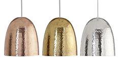 Credit: PR Barock hammered shade in copper/nickel/brass, £24.98, from B&Q