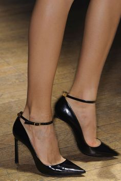 style   shoes - perfect black heels by lanvin spring 2015