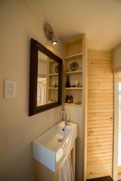 Harmony House - Full Moon Tiny Shelters - Nova Scotia - Bathroom - Humble Homes