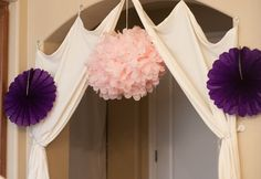 Cute for an entry way into a Girly Girl Party...this one is from a spa party