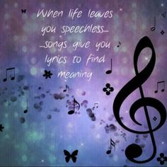 I'm sure there is a song for every feeling and every situation out there! Music is the voice when we can't find the words! music quotes Golden Nuggets Of Wisdom- From - Famous - Composers Music Lyrics, Music Songs, My Music, Music Stuff, Piano Music, Kinds Of Music, Music Is Life, House Music, Tattoo Musik