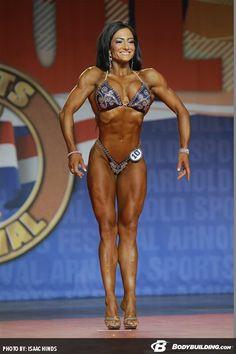 Camala Rodriguez (2014 IFBB Arnold Classic)