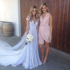 Nadia bartels amazing JAton wedding dress