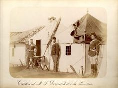 Cartierul Domnitorului la Pordim #mastersofphotography #romanianindependencewar #carolpoppdeszathmary #warphotographer #historicalphotography Historical Images, War, Painting, Painting Art, Paintings, Painted Canvas, Drawings