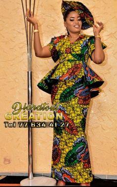 African Fashion Skirts, African Dresses For Women, African Print Dress Designs, African Design, Neck Designs For Suits, Africans, Ankara, Designer Dresses, Peplum Dress