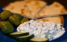 Tzatziki is a Greek yogurt sauce made with cucumber and garlic. Tzatziki is most commonly know as the sauce on Gyros, but is great for lots of other things. It's a wonderful appetizer with grilled pita and goes well with roasted or grilled chicken or lamb.