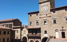 The main piazza in Cortona, Italy!  A great place to sit back and enjoy the Tuscan lifestyle www.vivatuscanytours.com