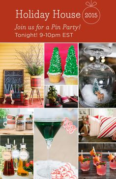 Grab a cozy blanket, your favorite beverage and snuggle in with HGTV as we dive head-first into the holiday spirit! We'll be pinning quite a bit over the next hour, so be sure to refresh your browser regularly to keep up. >> http://www.hgtv.com/design/packages/holiday-house?soc=holidaypinparty