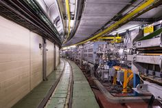 SPS the Super Proton Synchrotron. The second largest accelerator in the world. Now is an LHC injector