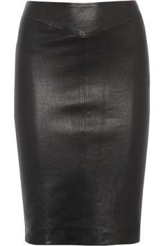 Joseph|Leather pencil skirt |NET-A-PORTER.COM