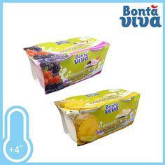 Yogurt magro 0,1% con pezzi di frutta. Gusto Ananas e Frutti di bosco. Confezione 2xgr.125 a solo € 0.49!!