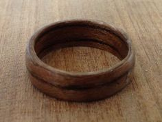 so pretty!!!!! Wood ring Great valentine's day gift for him