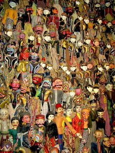 indonesian puppets