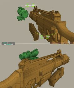 gun topology fit for game