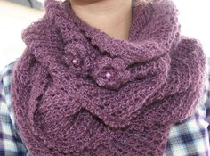 Cowl Scarf, Scarves, Knitting, Clothes, Cowls, Fashion, Scarfs, Outfits, Moda