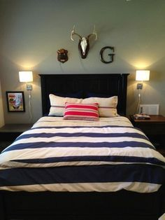 Boy Bedroom - traditional - Bedroom - Houston - Chirigos Designs