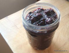 What Would Jeanna Cook: Blueberry Vanilla Chia Seed Jam