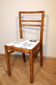 Oodnawiamy krzesło majsterki Dining Chairs, Diy, Furniture, Design, Home Decor, Decoration Home, Bricolage, Room Decor