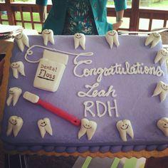 My dental hygiene graduation cake!!!