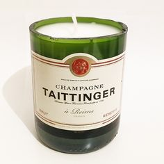 *new our #taittinger #champagner #candle