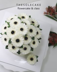Happy Saturday! 뽀얀크림빛깔 거베라 가득~ 블러썸입니다.^^ - Made by inyeong #cake#cakedesign#flowercake#buttercreamcake#buttercreamflowercake#koreanfood#koreanbuttercream#koreanbuttercreamflowercake#instacake#baking#flowercakeclass#bakingclass#privatelesson#thesolecake#bakinglesson#piping#더쏠케이크#버터크림케이크#버터크림플라워케이크#꽃케이크#거베라#블러썸#베이킹클래스#예쁜케이크#인스타케이크#베이킹