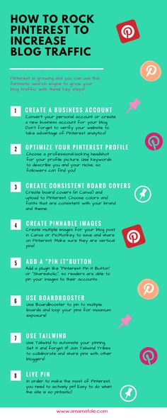How to Rock Pinterest to Increase Blog Traffic