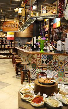 El Cantara (Stratford, UK), shortlisted for Best UK Restaurant or Bar in a Retail Space 2012 Decoration Restaurant, Deco Restaurant, Restaurant Interior Design, Coffee Shop Design, Cafe Design, Store Design, Bar Design Awards, Café Bar, Cafe Style