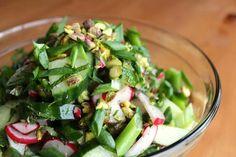 Cucumber- mint salad