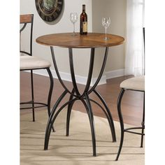 Gentil Pacifico Bar Height Bistro Set   Hillsdale Furniture Pacifico Bar Height  Bistro Set Hillsdale Furniture Metal With