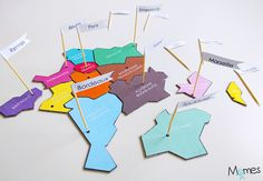 carte de france à imprimer Puzzles, International Day, Montessori, Logos, Inspiration, Alternative, School, Peda, Trivia